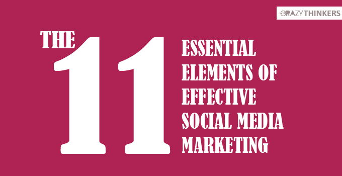 11 Significant Elements of Effective Social Media Marketing
