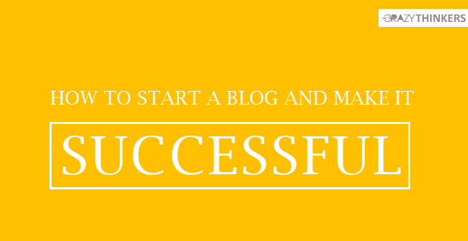 How to Start a Successful Blog & Easy Tips to Make Money Online quickly