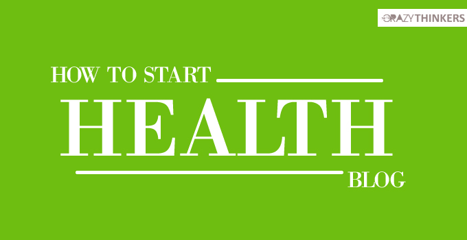 How to start health blog and make money online