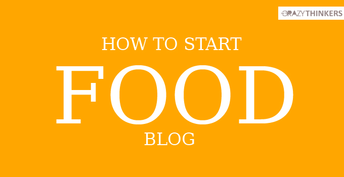 how to start food blog and make money online.