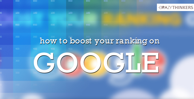How to boost your ranking on Google