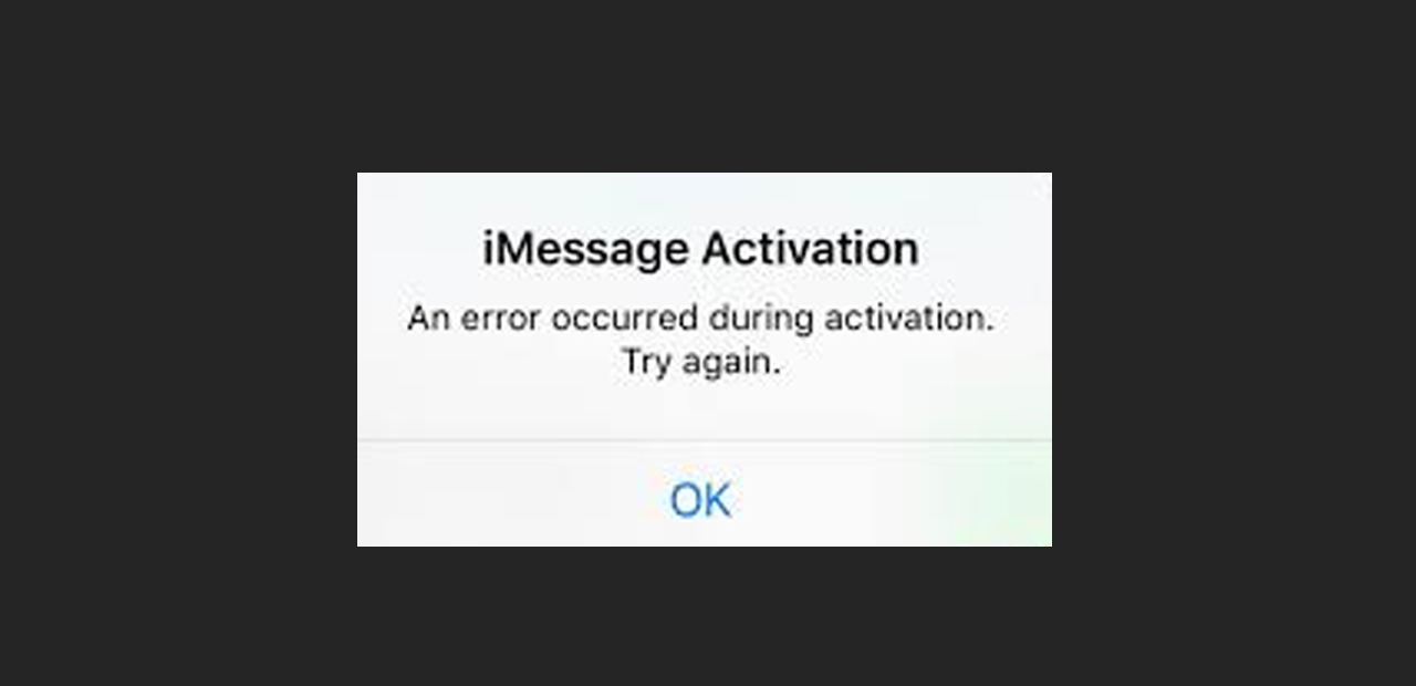 """""""iMessage waiting for activation / iMessage not working"""" Error on iPhone"""