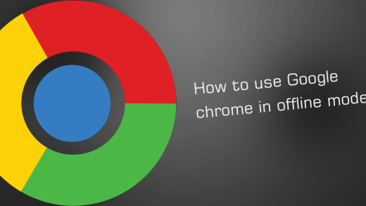 How to use Google chrome in offline mode