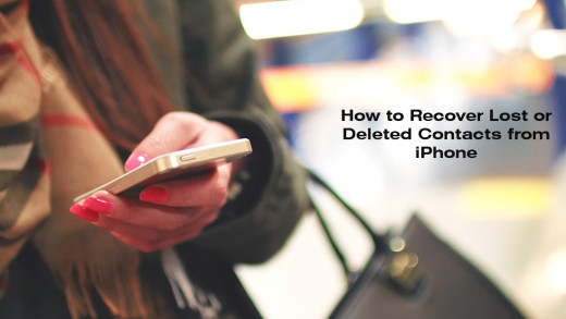 How to Restore Lost iCloud Contacts to iPhone
