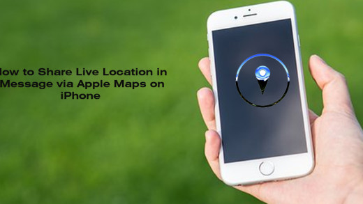 How to Share Live Location in iMessage via Apple Maps on iPhone