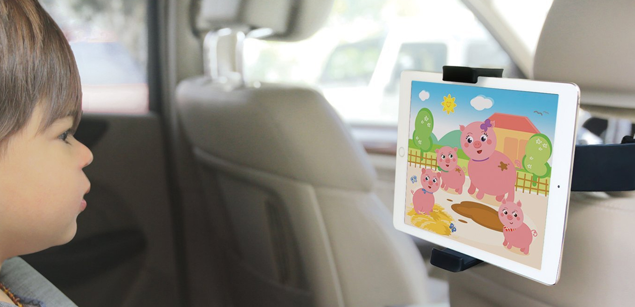 Best iPad Pro headrest car mounts