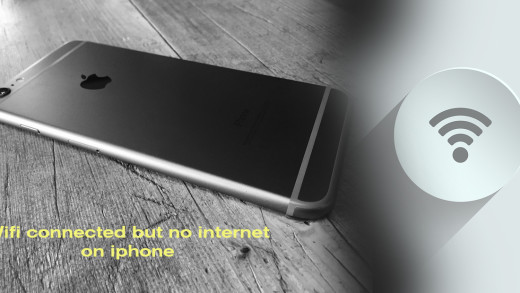 wifi connected but no internet on iphone