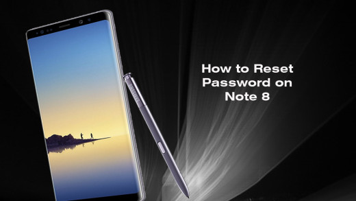 How to Reset Password Samsung Galaxy Note 8