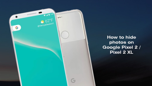 How to hide photos on Google Pixel 2 - Pixel 2 XL